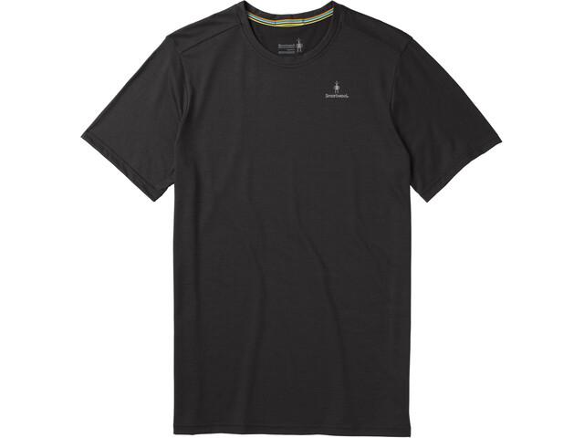 Smartwool Merino Sport 150 Logo Camiseta Manga Corta Hombre, black